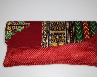 Ankara clutch bag | Dashiki
