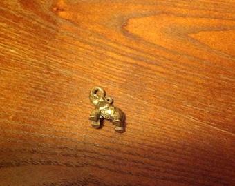 Custom made Jewelry with Brass Elephant Pendant
