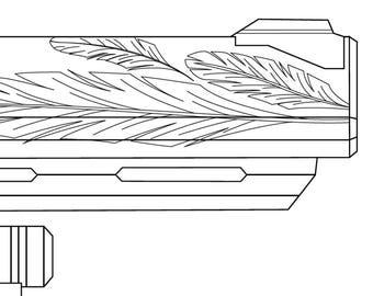 Hawkmoon Prop Blueprint (Destiny)