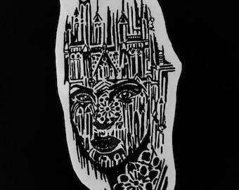 Faith Facade sticker