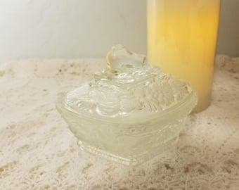 Meisenthal French candy dish