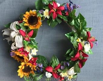 Cheerful Summer Wreath!