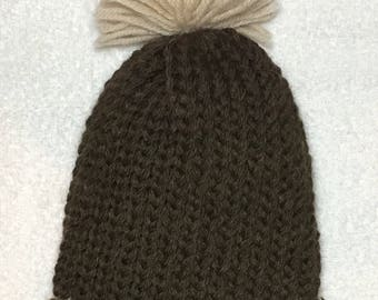 Brown Beauty Baby Hat