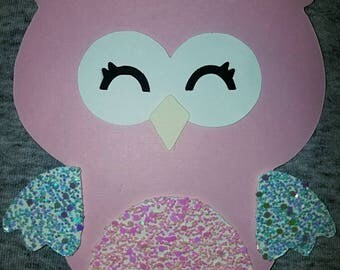 Owl Shaped Invitations