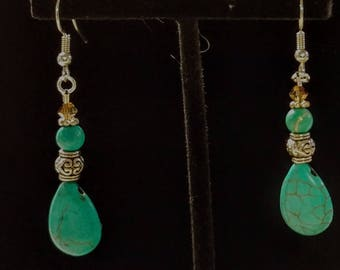 Turquoise and stainless steel