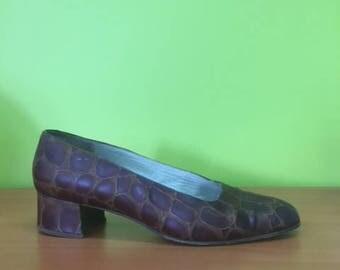 italian leather crocodile rock dancing shoes