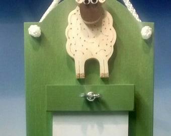 Sheep design Memo board.
