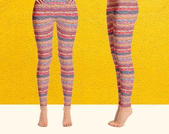My Summer bohemian hippie Leggings