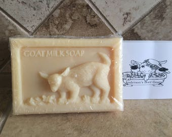 Goat Milk Soap 1 Bar Lavender