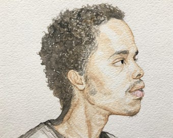 Earl Sweatshirt painting