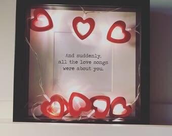 Love songs ...