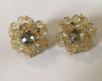 Translucent Cluster Earrings