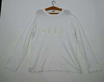ELLE PARIS Long Sleeve Tshirt Medium