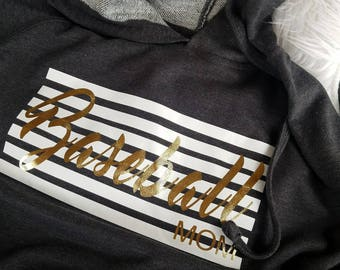 Baseball Mom pullover hoodie | Sports Mom |Baseball Mom Swag | Baseball shirt | hooides | Baseball Babes | Moms shirts | Customize