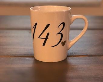 custom 143 coffee mug