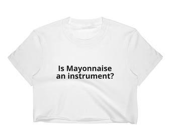 Mayonnaise Crop White