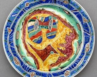 Handmade Faience Plate