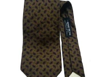 Nice Paisley Richel By Takashimaya Men Necktie Silk Full Motivated
