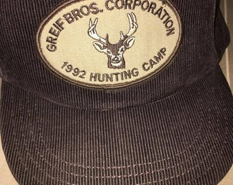 Vintage corduroy cap