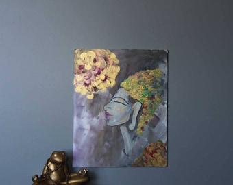 "Goddess 24""x30"" Original Acrylic Painting"