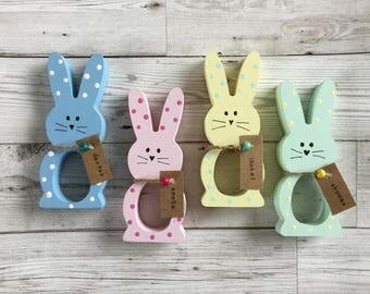 Personalised Easter Bunny Chocolate Egg Holder