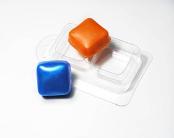 Soap forms, soap mold, Form for chocolate, Forms for chocolate, Icetrays, Plastic forms, Small squares, the Geometrical figure
