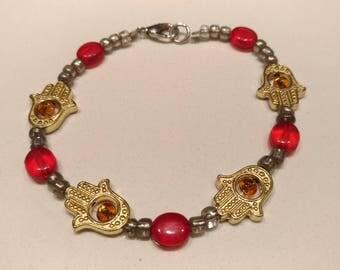 Beaded Bracelet - Hasma