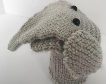 Erny the Elephant Puppet