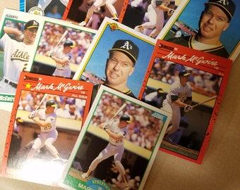 Ten Mark McGwire cards