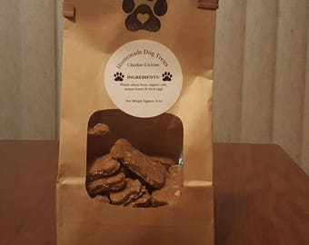 Homemade Dog Treats - ChorkieLicious - Healthy All Natural Peanut Butter and Oats