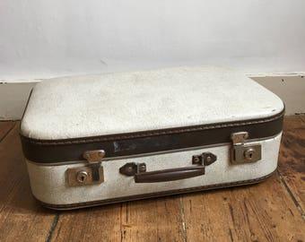 Vintage 1950's suitcase