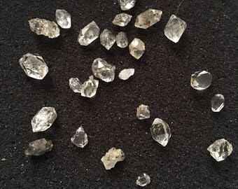 Small Herkimer Diamonds for Crafting (Grade A-C)