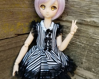 Stripe Lolita Dress