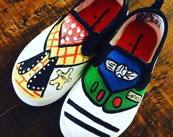 Woody and Buzz shoes