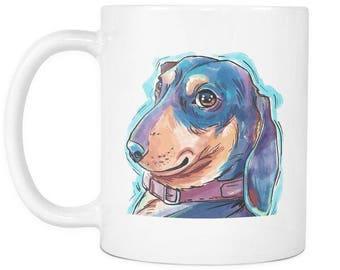 Dachshund Custom Coffee Mug