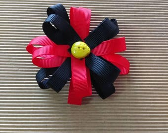 Flower Loop Hair Clip