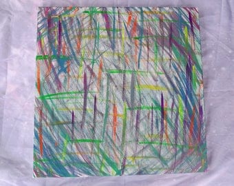 Color scratches 20x20