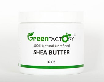 GreenFactory 100% All Natural Shea Butter