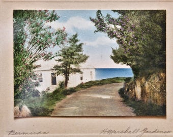 Bermuda Hand Tinted Photo by H. Marshall Gardiner With previous sale information