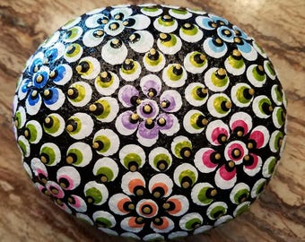 Flower Mandala Rock