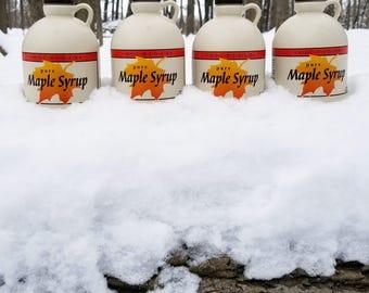 Pure Maple Syrup   Michigan   Grade A Dark, Robust Flavor   4 Quarts