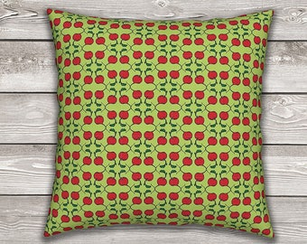 Farm Fresh Throw Pillow Cover