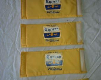 Corona beer, velcro can koozie