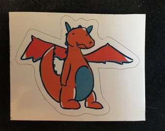 Dragon Die-Cut Sticker