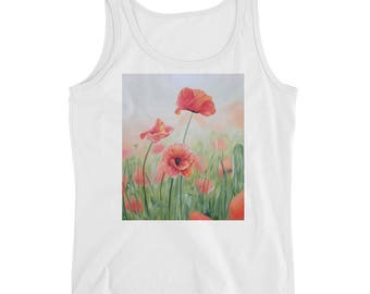 Poppies Ladies' Tank