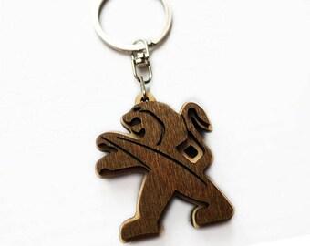 Personalized Wooden Keychain/keychain wooden