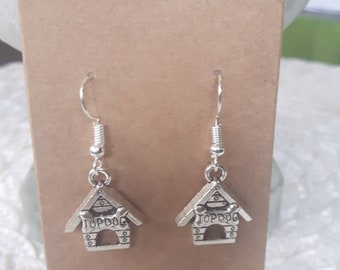 Dog House Earrings