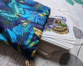 Tarot Bag, Drawstring Bag, Dice Bag, Gemstone Bag, Bag of Holding