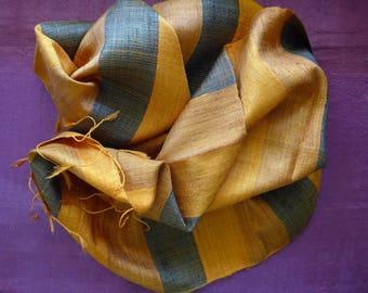 Lao Handwoven Silk Scarf