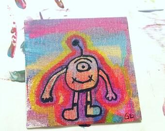 Painting- Tye Dye Monster